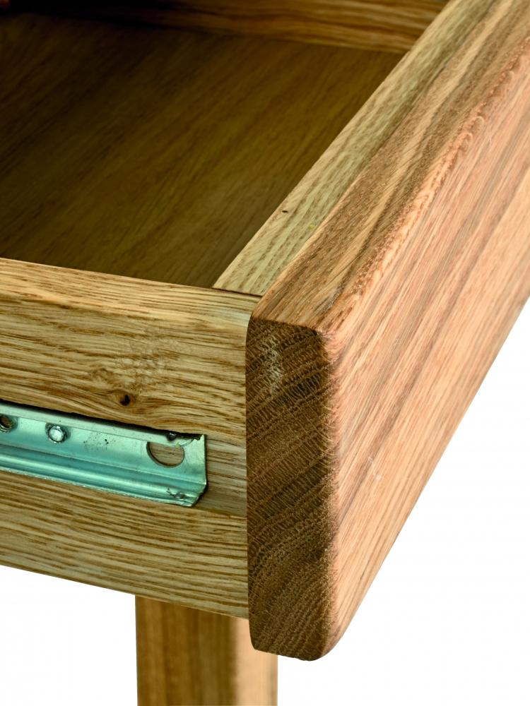 Noční stolek Molk, 50 cm, dub