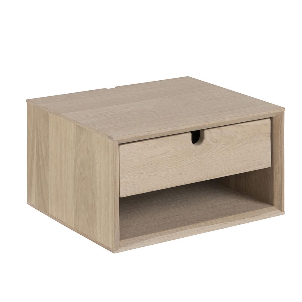 Noční stolek nástěnný Delica, 37 cm