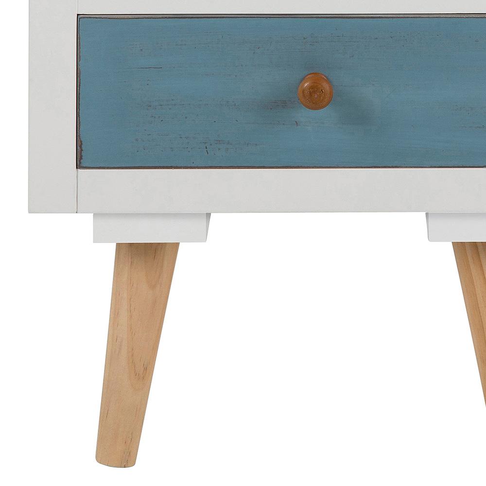Noční stolek se zásuvkami Thess, 59 cm