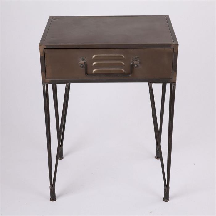Noční stolek se zásuvkou Enjoyed, 70 cm