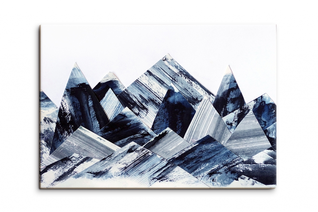 Obraz Abstraktní střepy, 90x60 cm