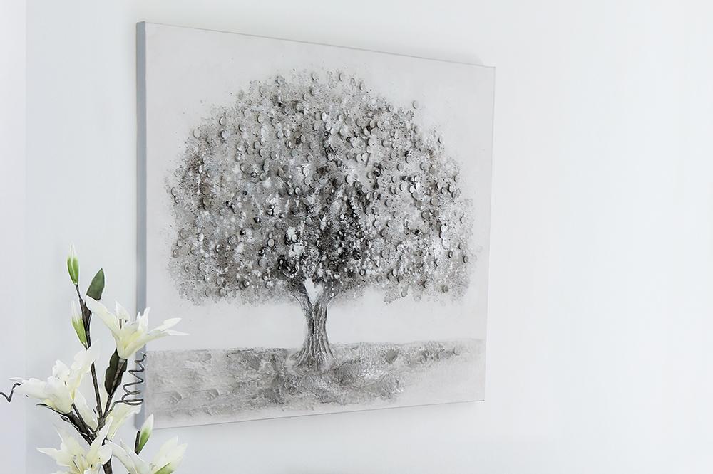 Obraz Big Tree 90x70 cm, olej na plátně