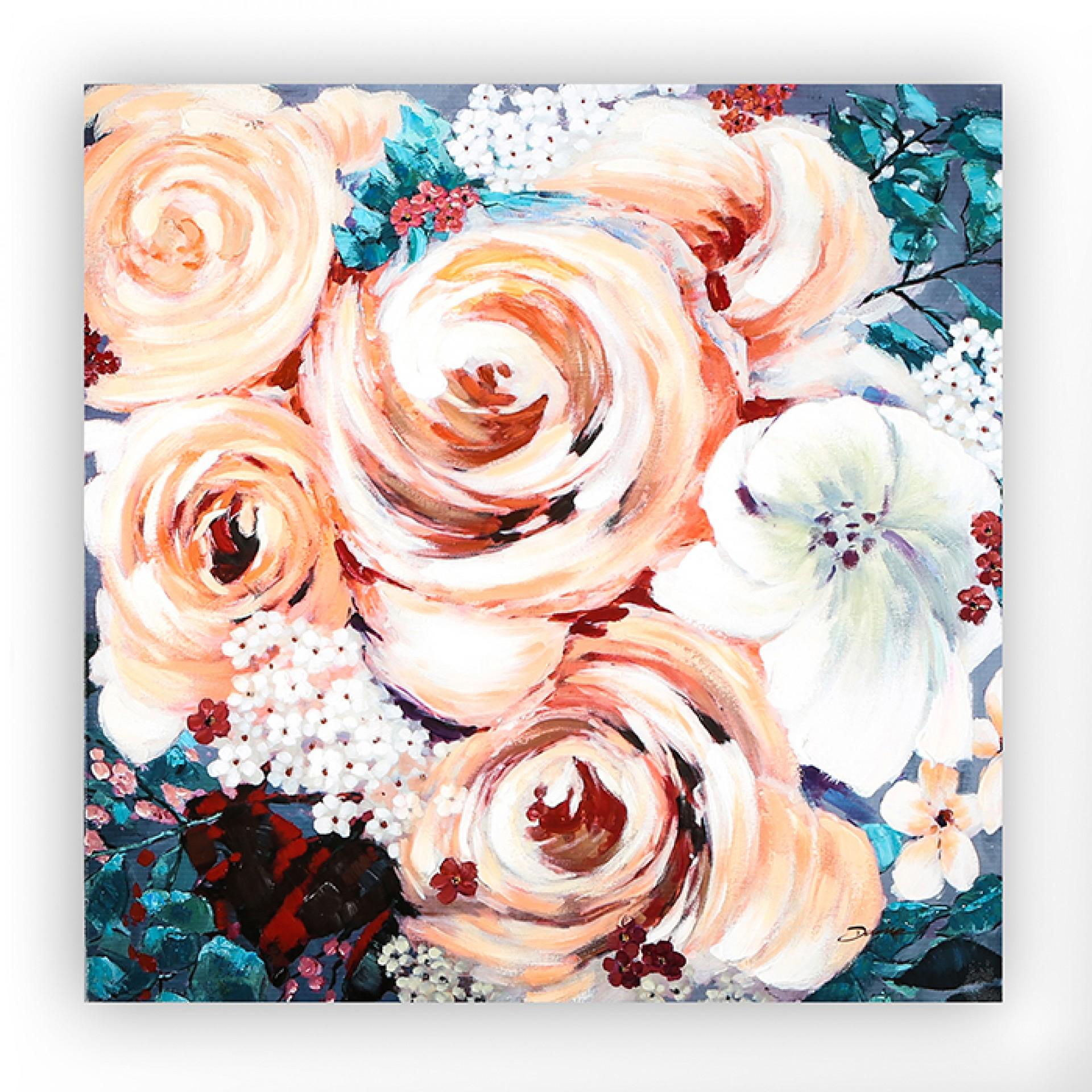 Obraz Blossom, 90 cm, akryl na plátně