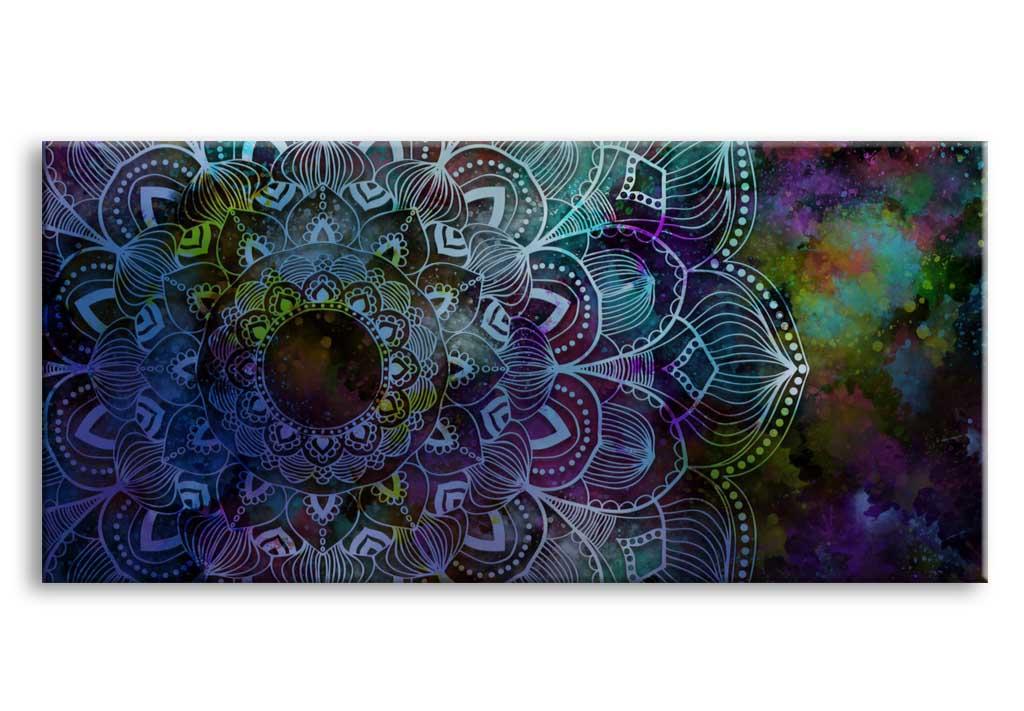 Obraz Čarokrásná mandala, 150x70 cm