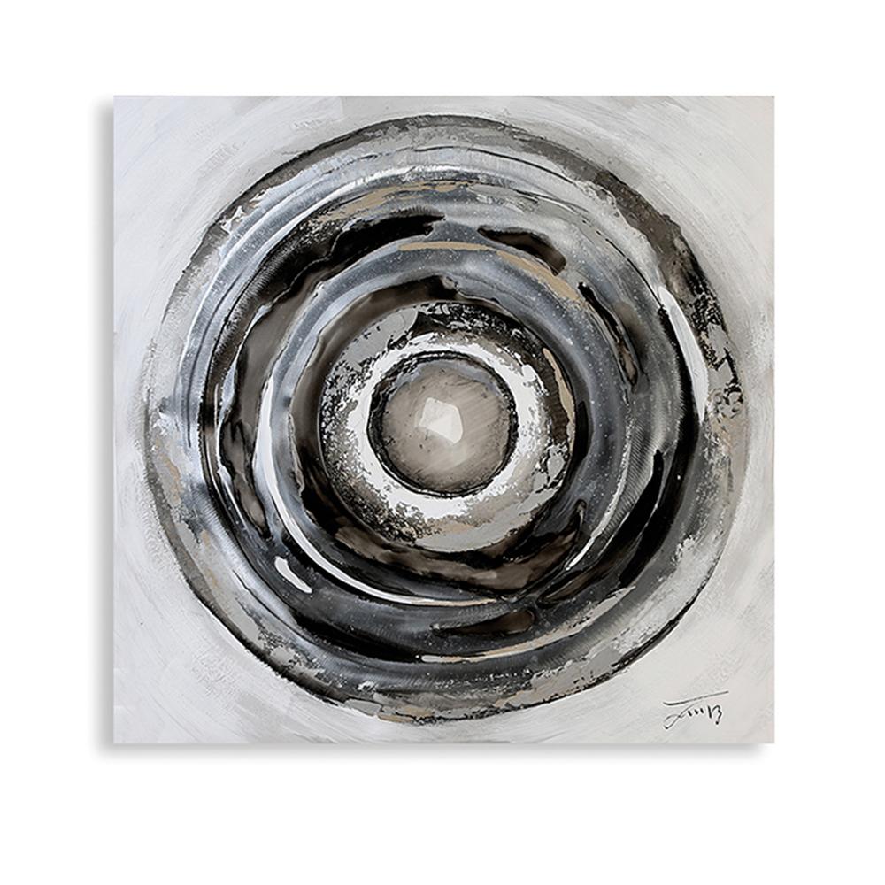 Obraz Circle 80 cm, olej na plátně