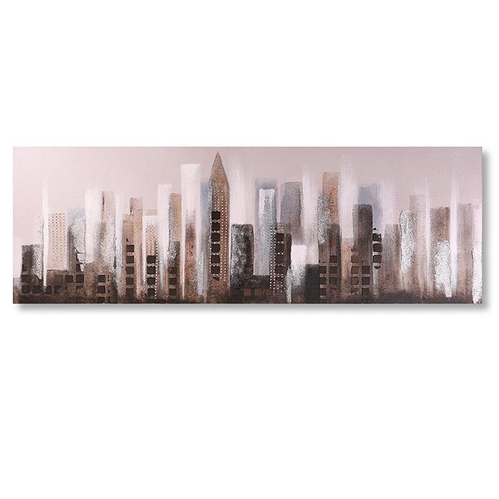 Obraz City, 120 cm, olej na plátně