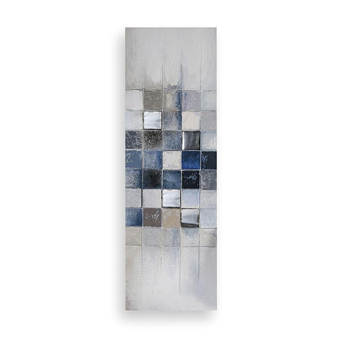Obraz Cubes 150x50 cm, olej na plátně