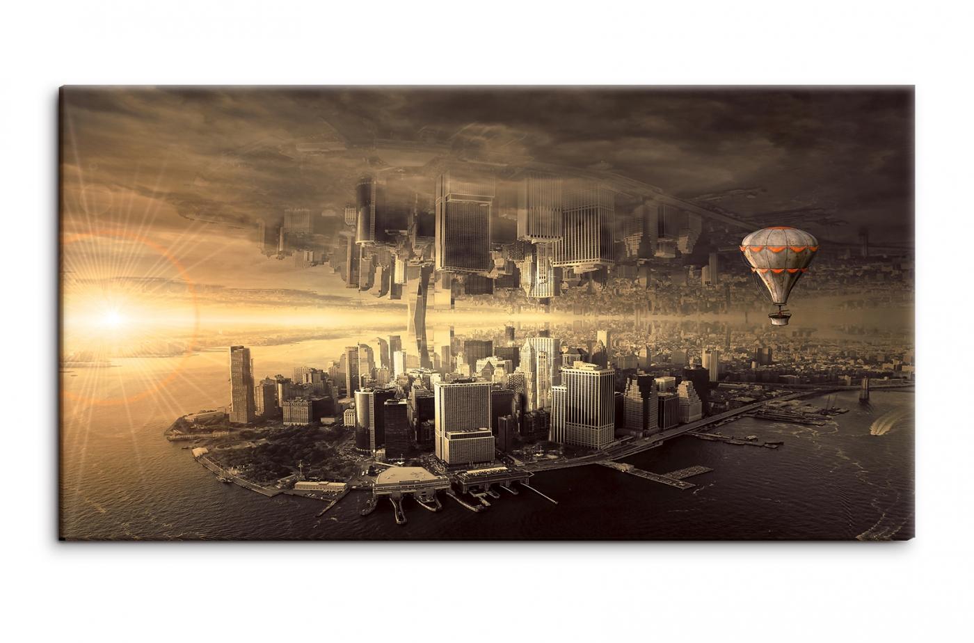 Obraz Fantasy New York, 120x55 cm