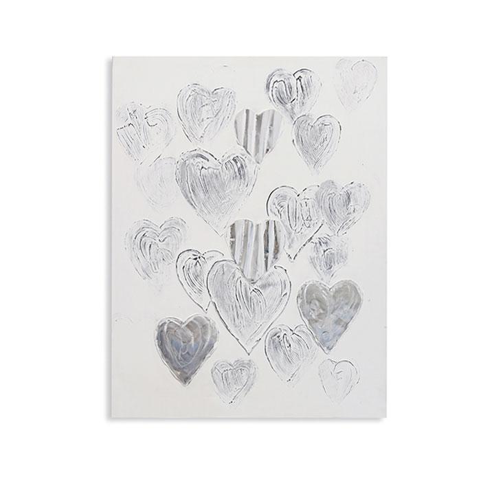 Obraz Heart 100x80 cm, olej na plátně