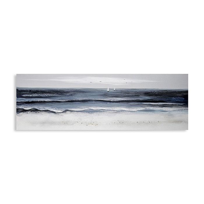 Obraz Helgoland 50x150 cm, olej na plátně