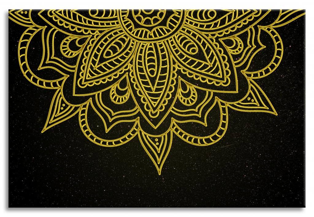 Obraz Hvězdná mandala, 75x50 cm
