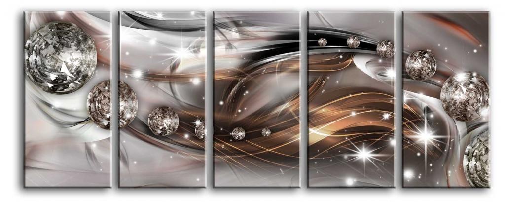 Obraz Hvězdný prach, 100x40 cm