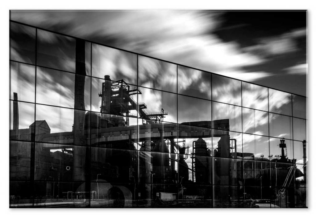 Obraz Industriální motiv, 120x80 cm