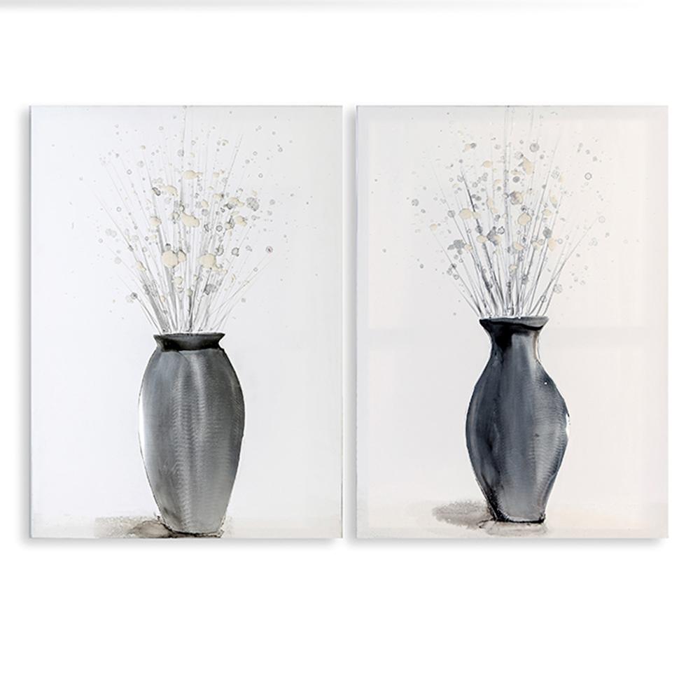 Obraz Jardin 70 cm, olej na plátně, sada 2 ks