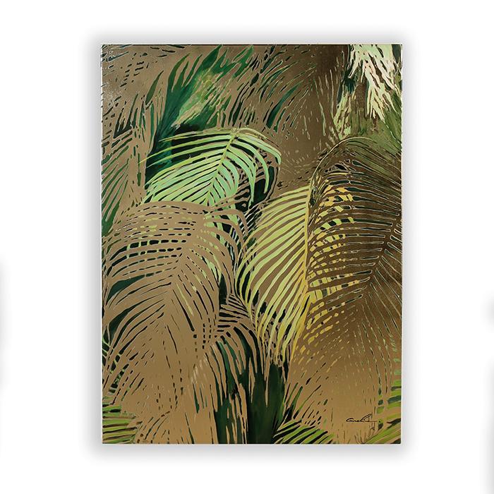 Obraz Jungle 100 cm, olej na plátně