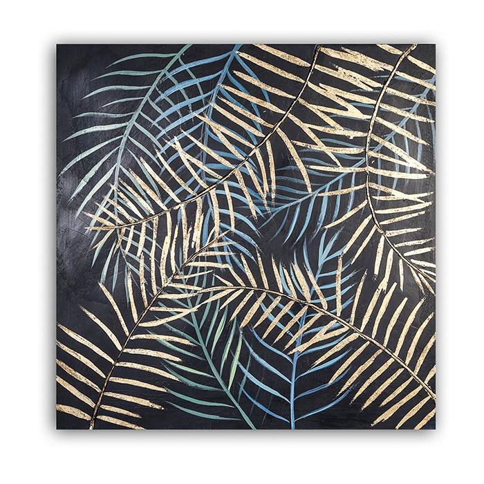 Obraz Kapradina 80 cm, olej na plátně