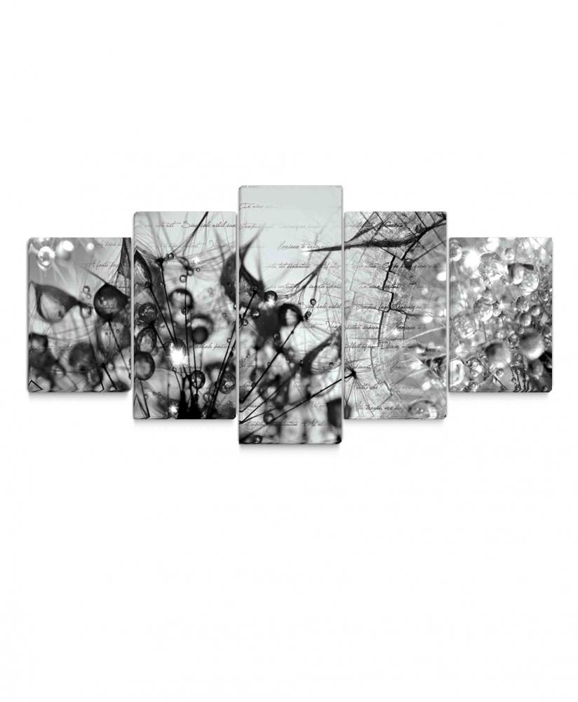 Obraz Krása v kapkách rosy, 200x90 cm