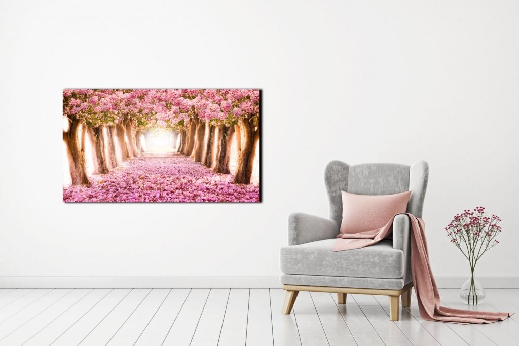 Obraz Kvetoucí stromy, 60x40 cm