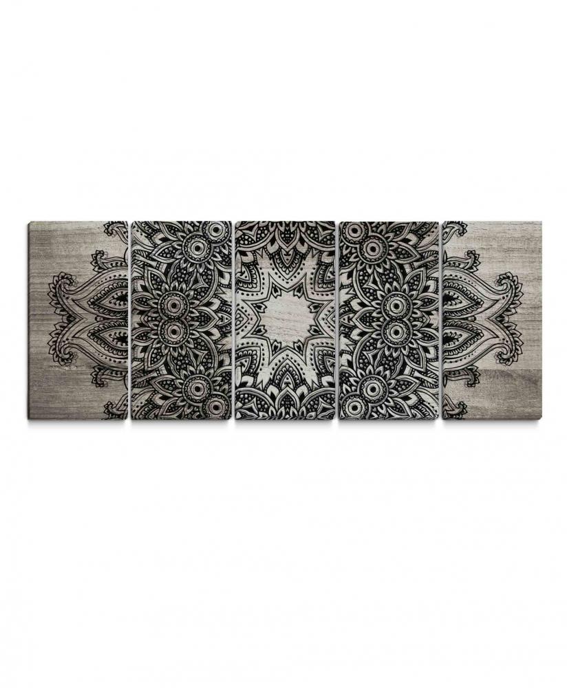 Obraz Mandala krajka, 150x60 cm