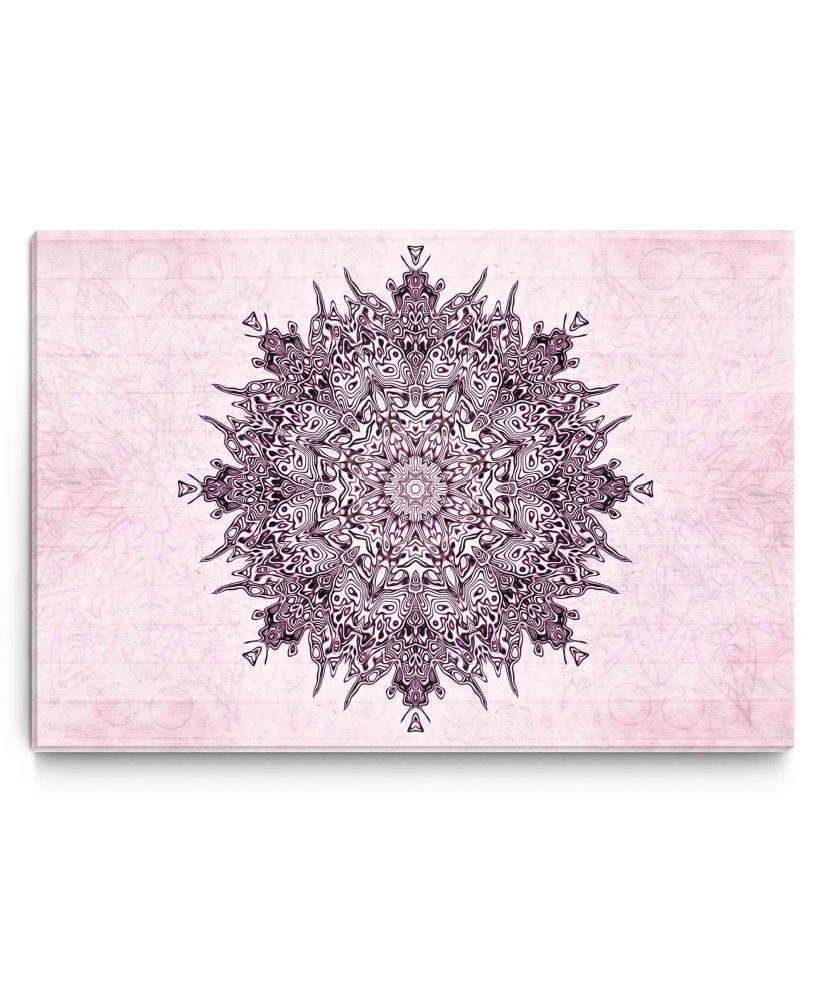 Obraz Mandala PINK, 90x60 cm