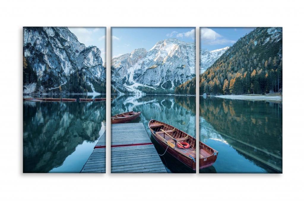 Obraz Mezi horami, 120x80 cm
