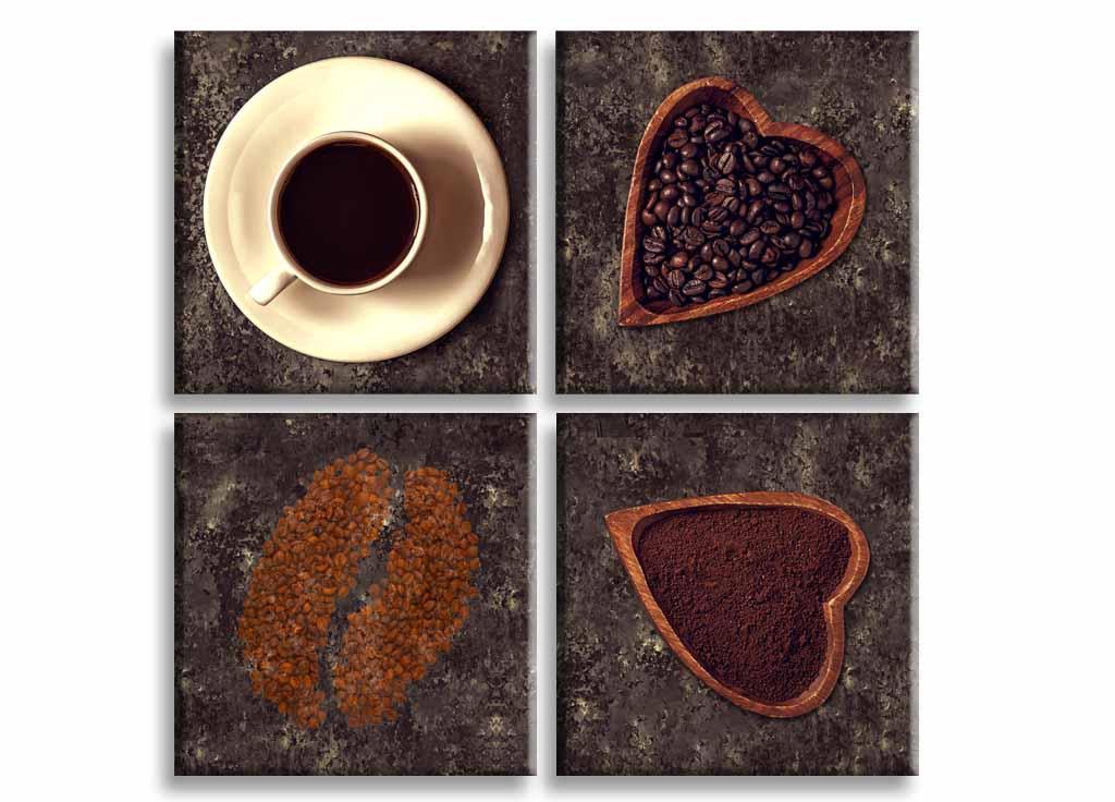 Obraz Miluji kávu, 60x60 cm