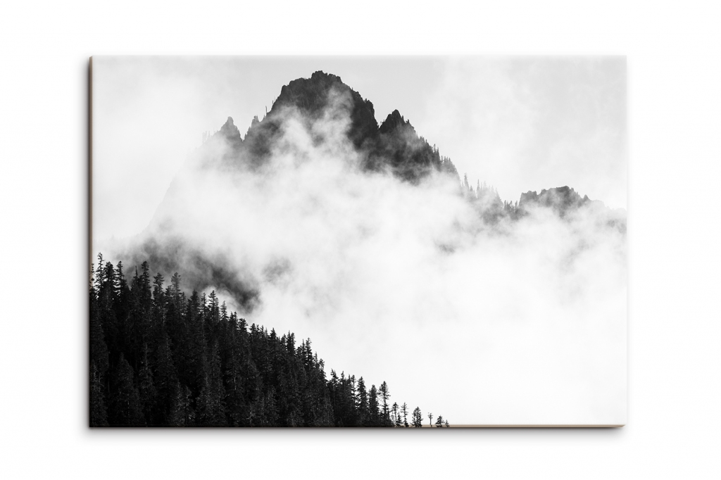 Obraz Mlha v Alpách, 90x60 cm