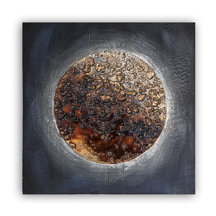 Obraz Moon 60 cm, olej na plátně
