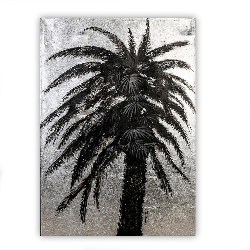 Obraz Palm Tree 100 cm, olej na plátně