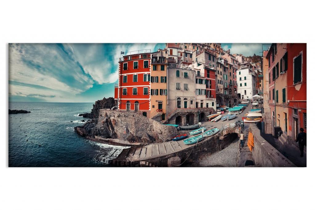 Obraz Panorama Říma, 150x60 cm