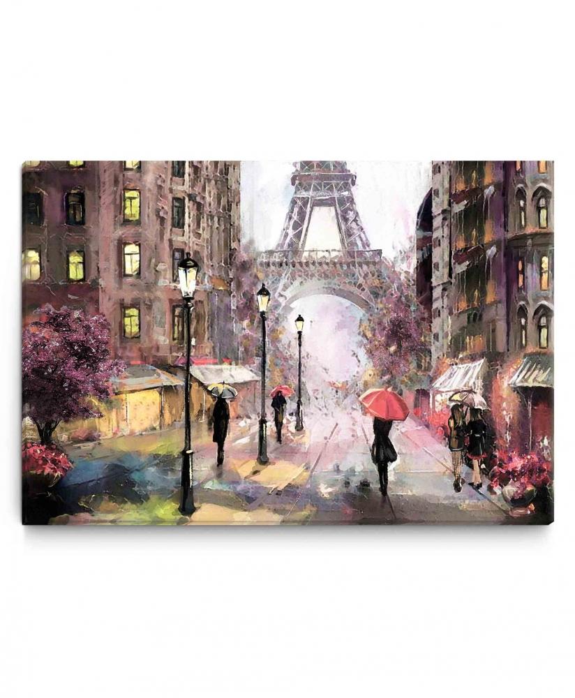 Obraz Pařížská ulice, 150x100 cm