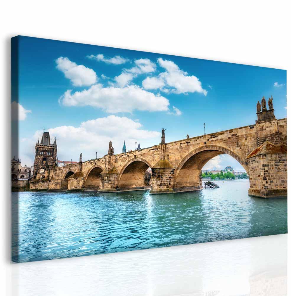 Obraz Pražský Karlův most, 180x100 cm