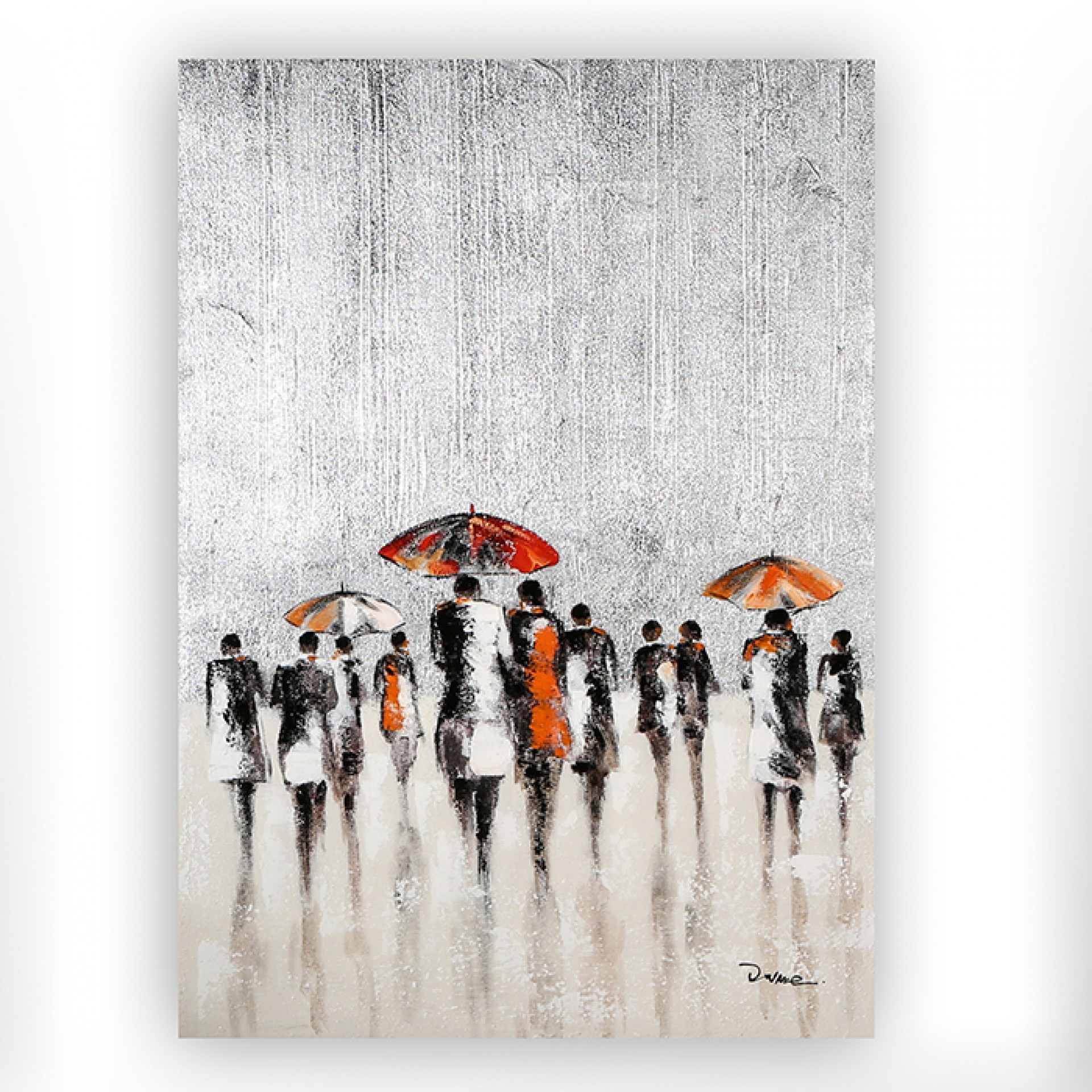 Obraz Rainy Day, 100 cm, akryl na plátně