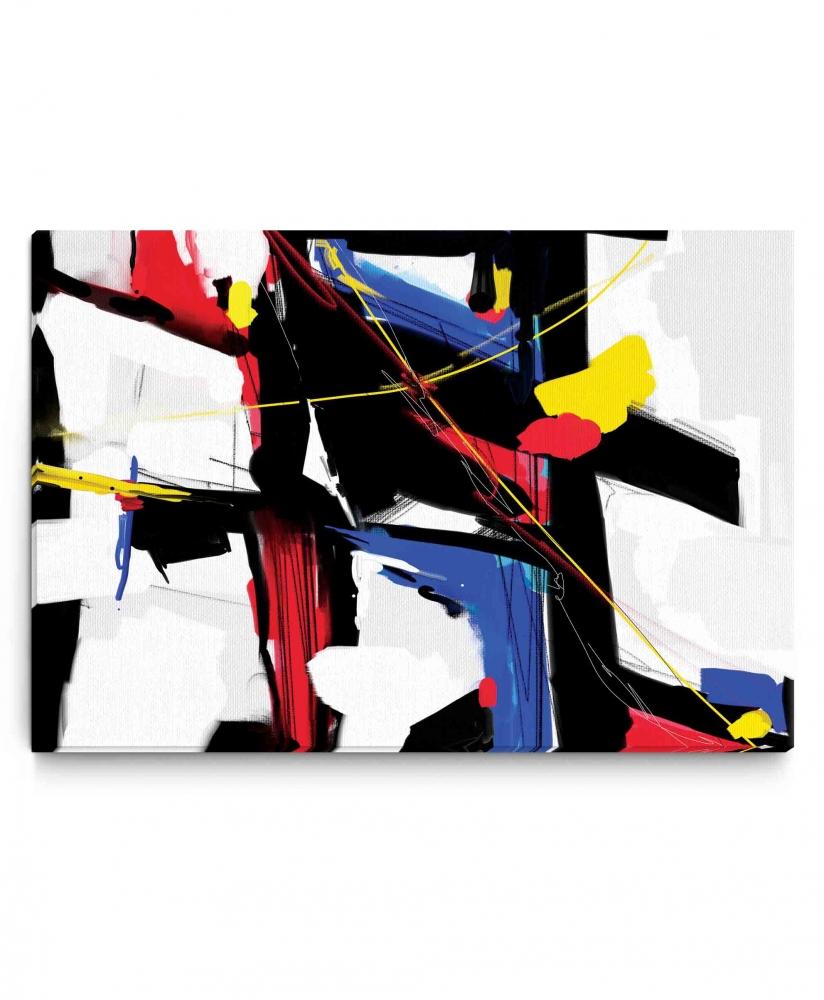Obraz reprodukce Abstraktní malba, 90x60 cm