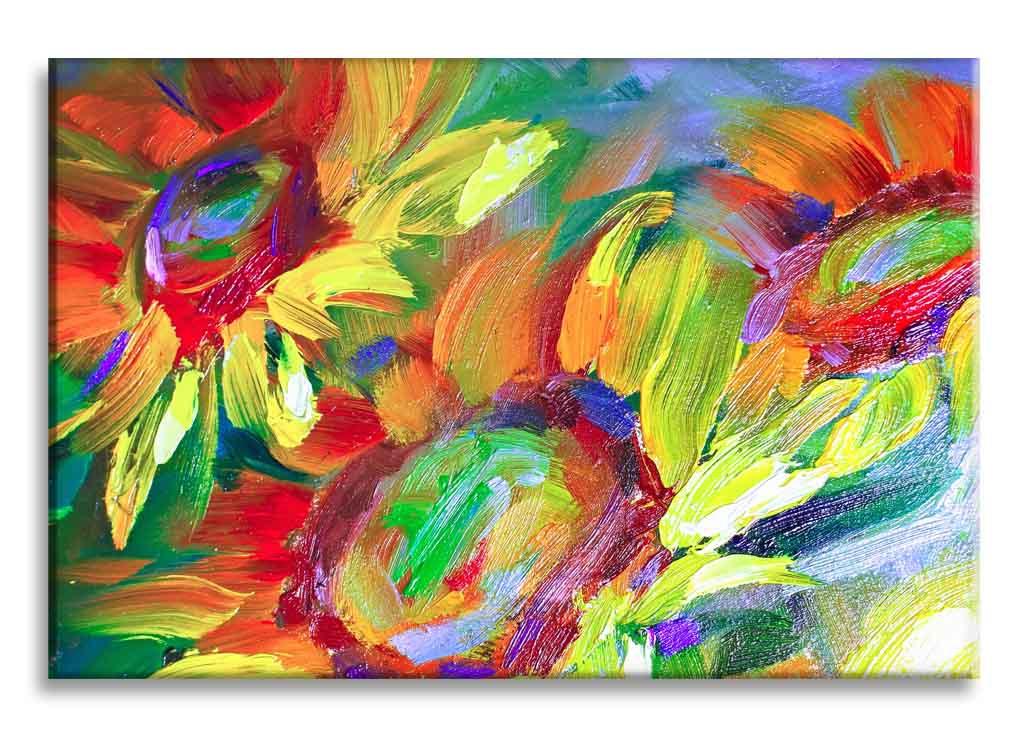 Obraz reprodukce Slunečnice, 120x80 cm