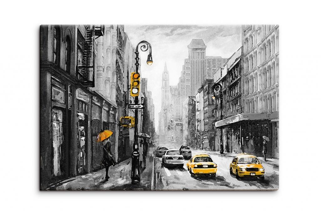 Obraz Reprodukce Ulice New Yorku, 90x60 cm