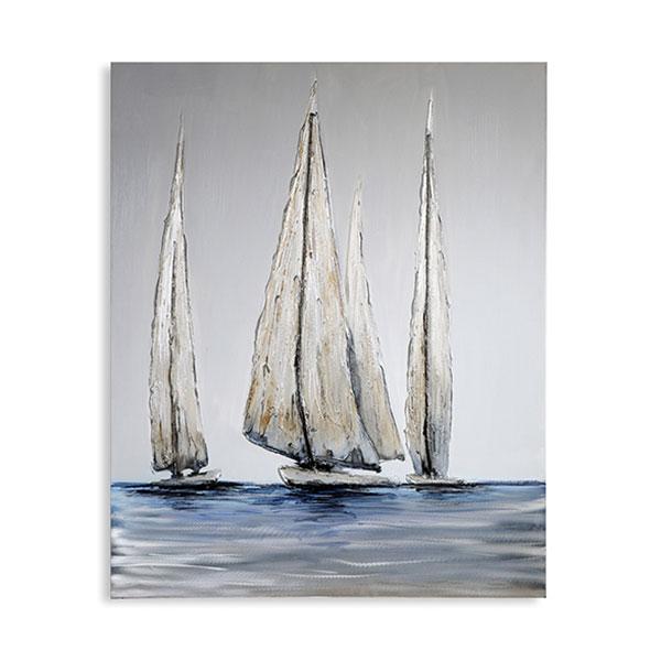 Obraz Sailing 100x80 cm, olej na plátně