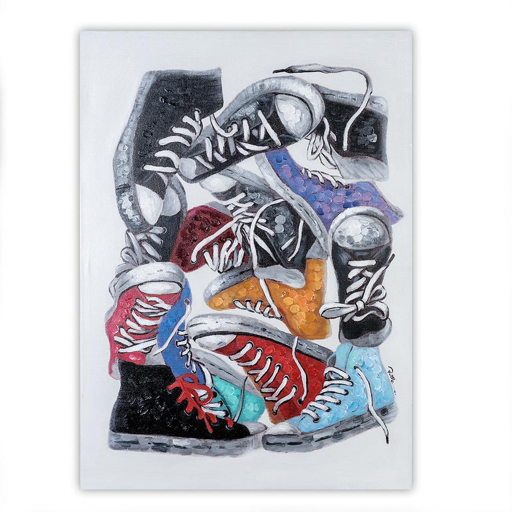 Obraz Shoes 100 cm, olej na plátně