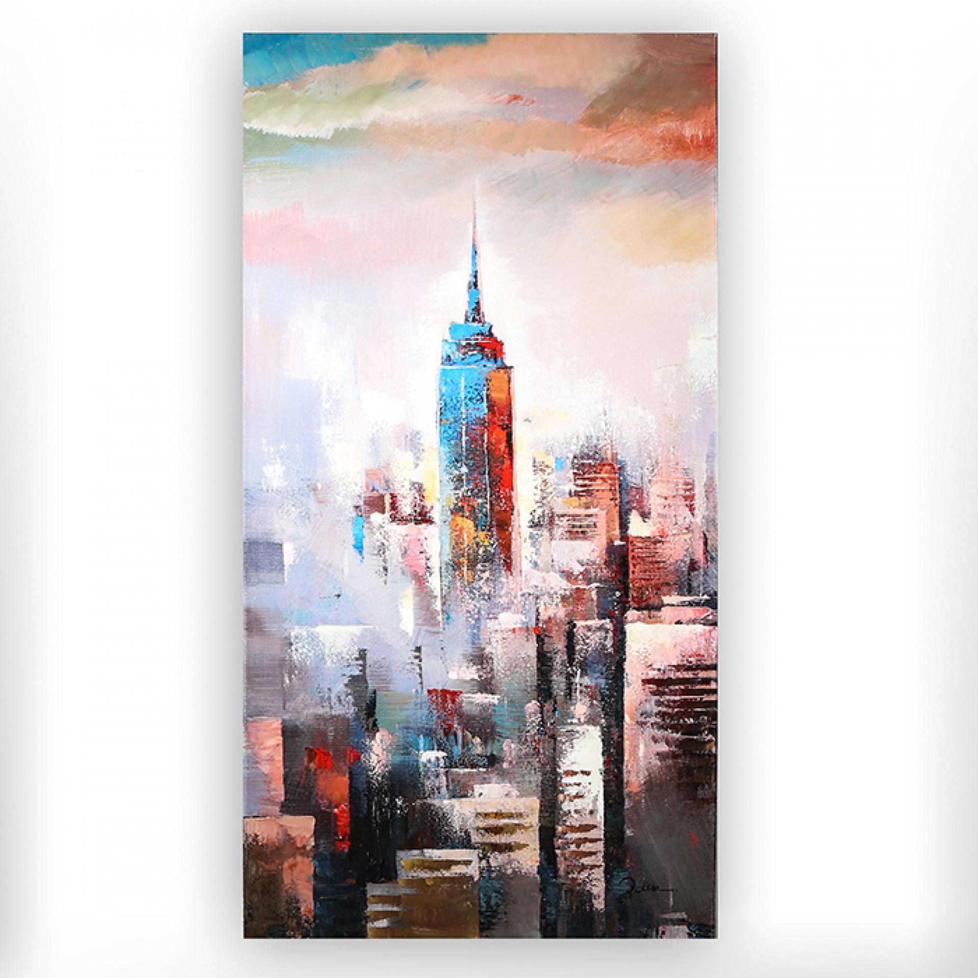 Obraz Skyline, 140 cm, akryl na plátně