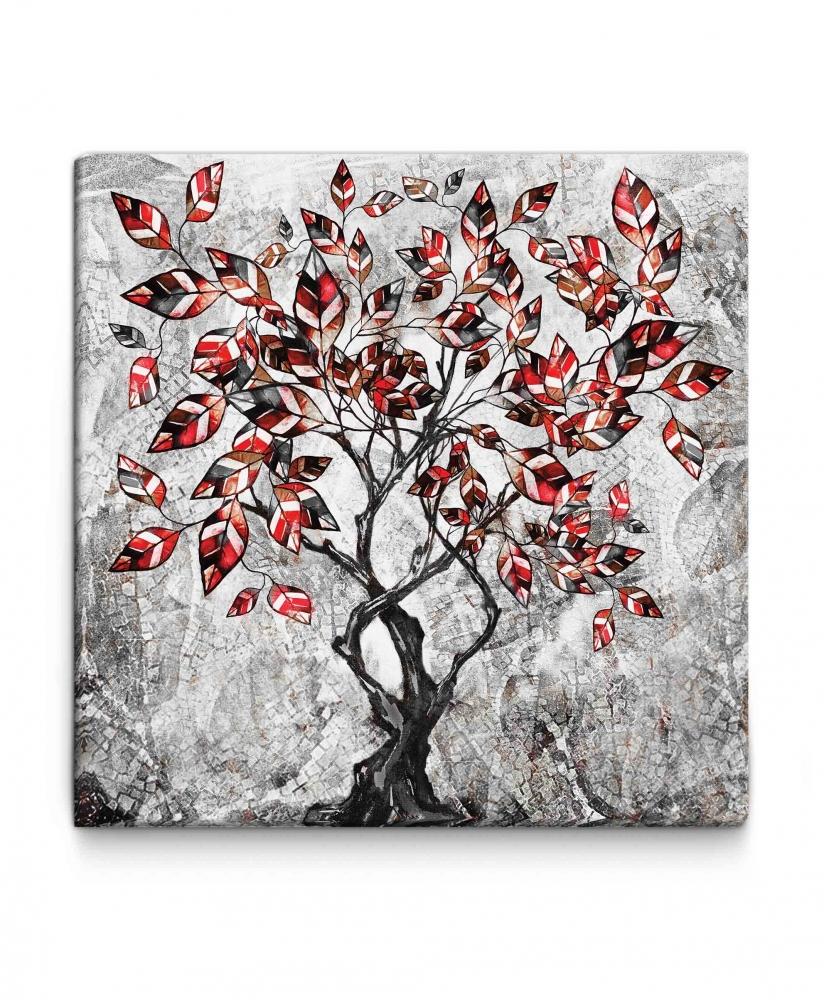 Obraz Strom II, 100x100 cm