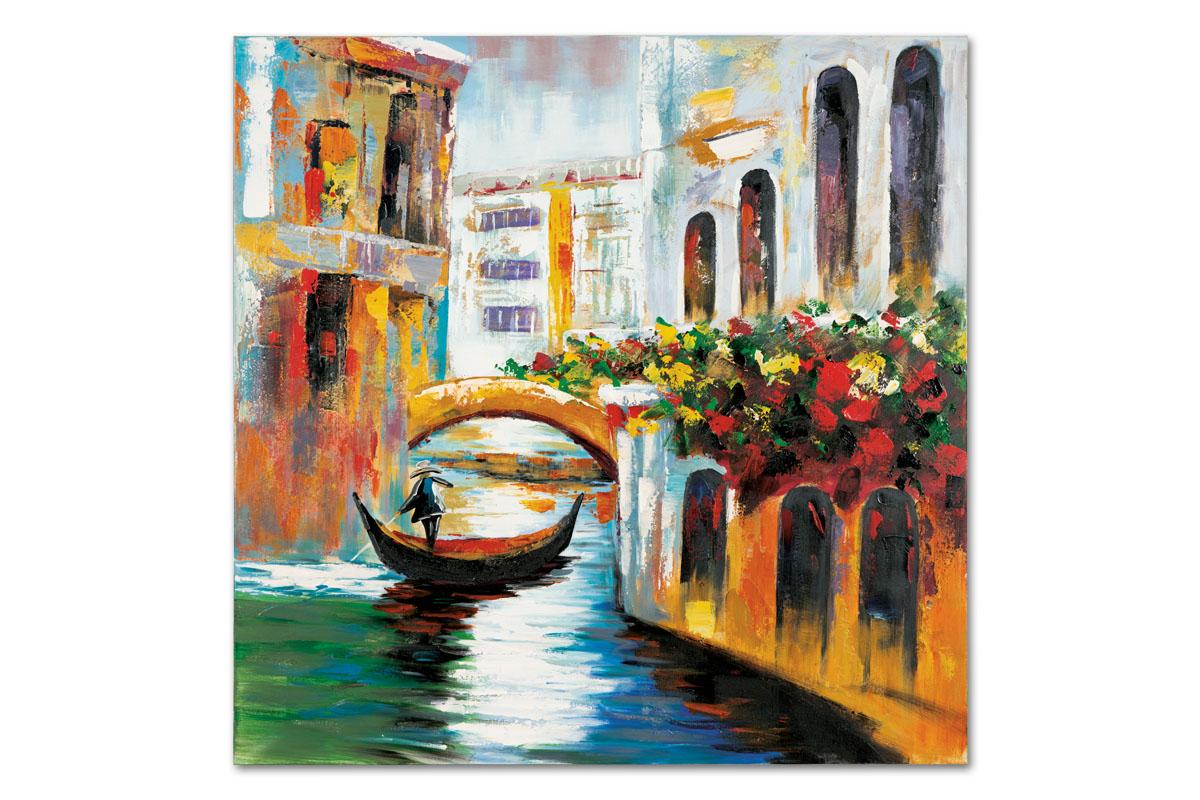 Obraz Venezia, 100 cm, olej na plátně
