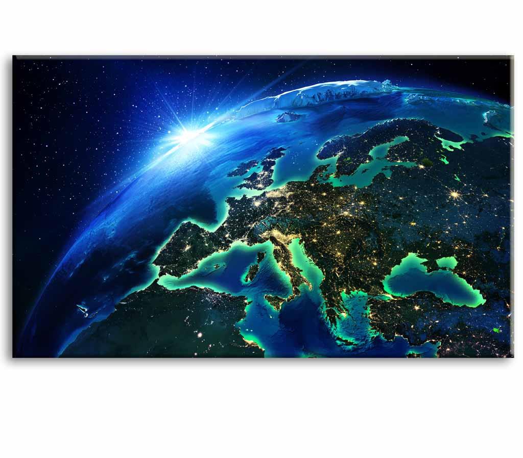 Obraz Země z vesmíru I, 150x90 cm