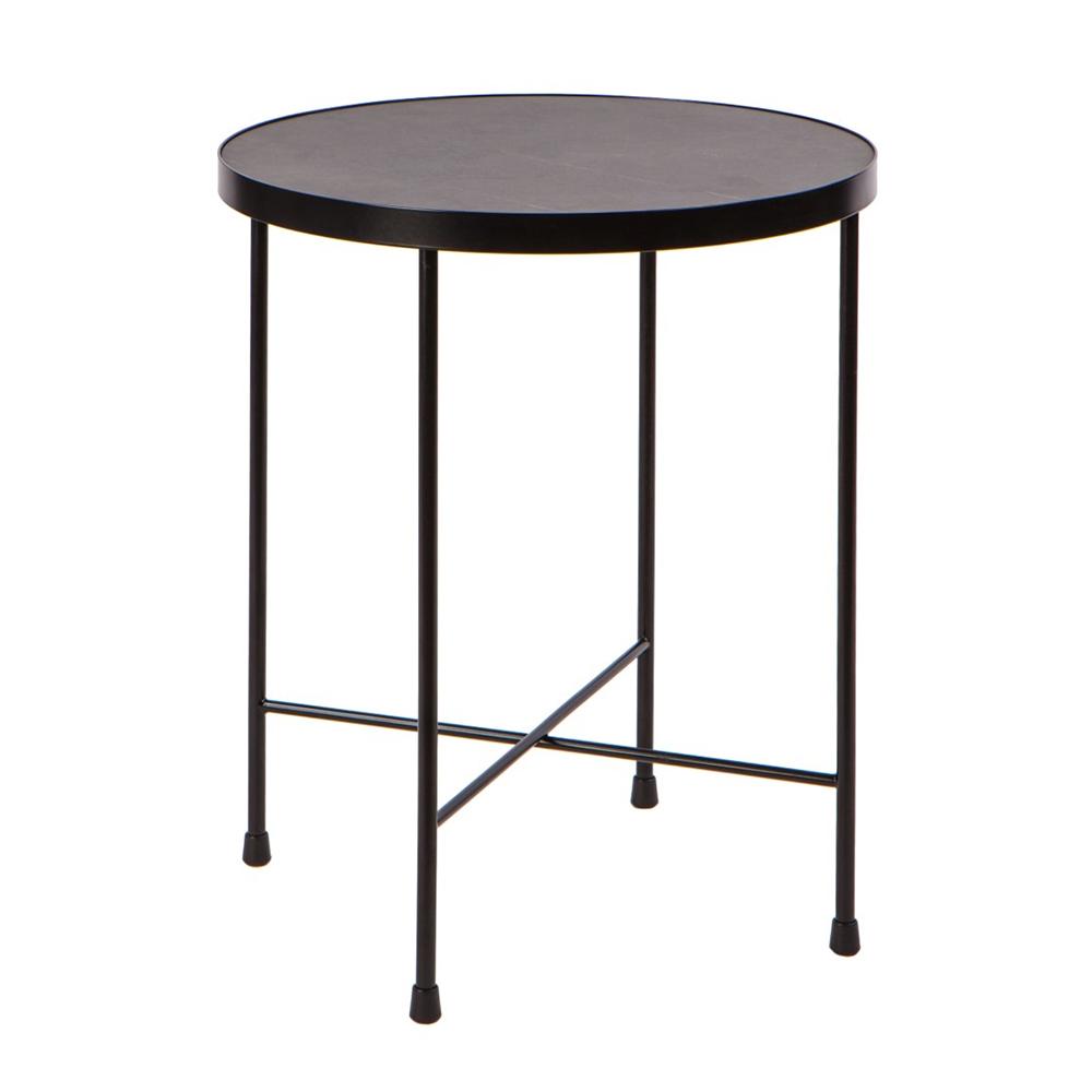 Odkládací / konferenční stolek Treen, 43 cm, mramor