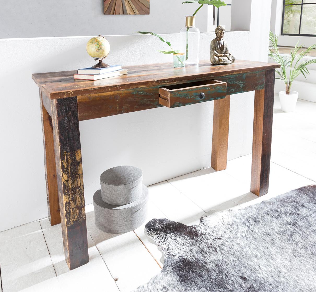 Odkládací / konzolový stůl Kalkutta, 120 cm, mango