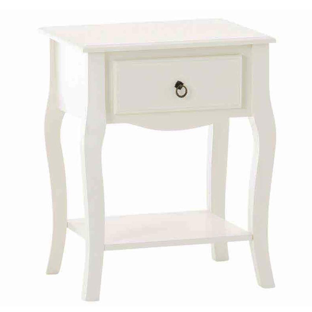 Odkládací / noční stolek se zásuvkou Juliet, 62 cm