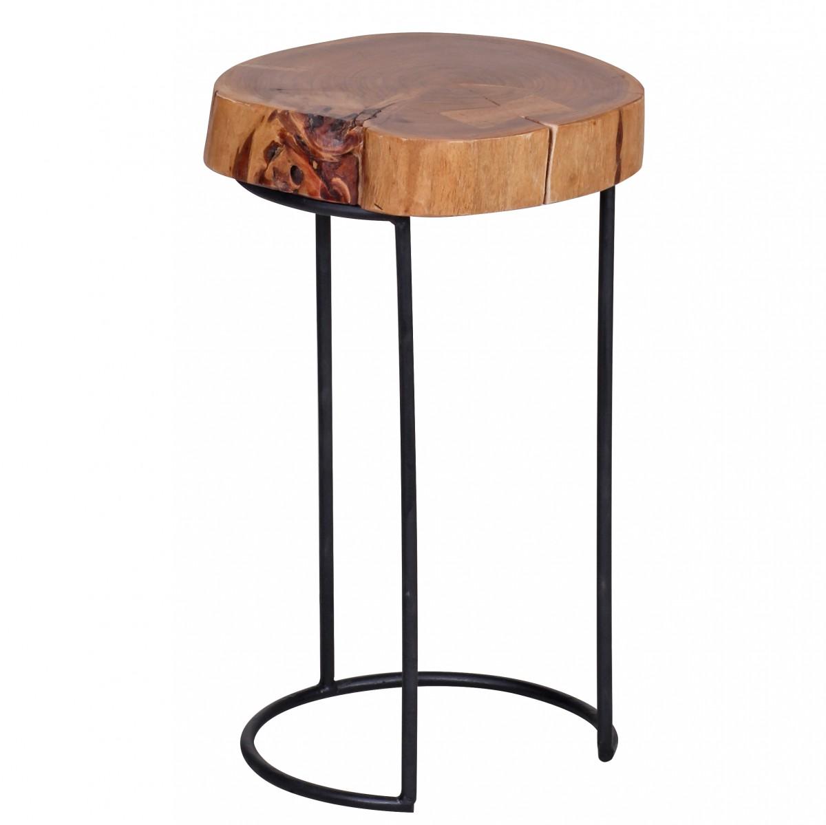 Odkládací stolek Akola, 28x45 cm, masiv akát