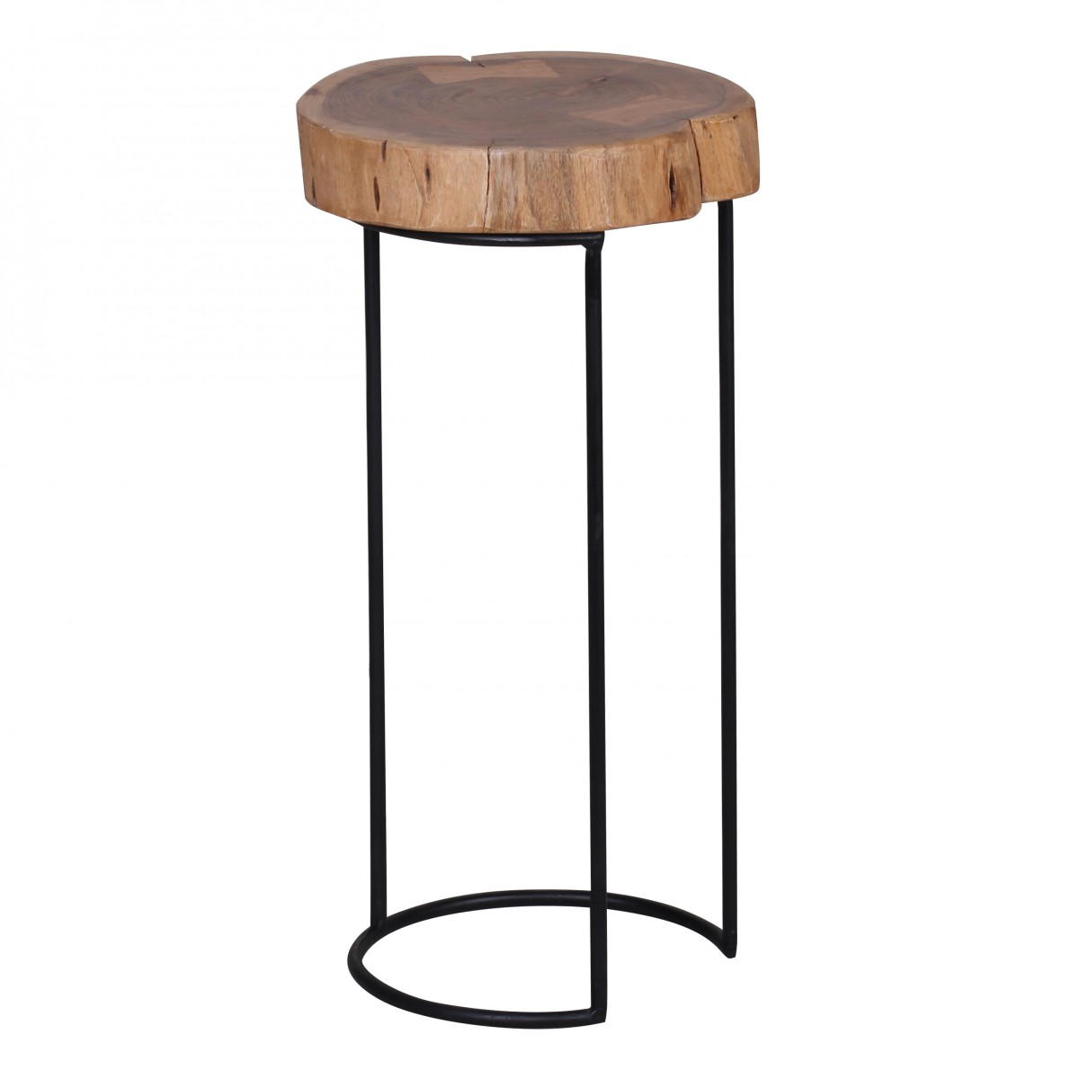 Odkládací stolek Akola, 28x55 cm, masiv akát