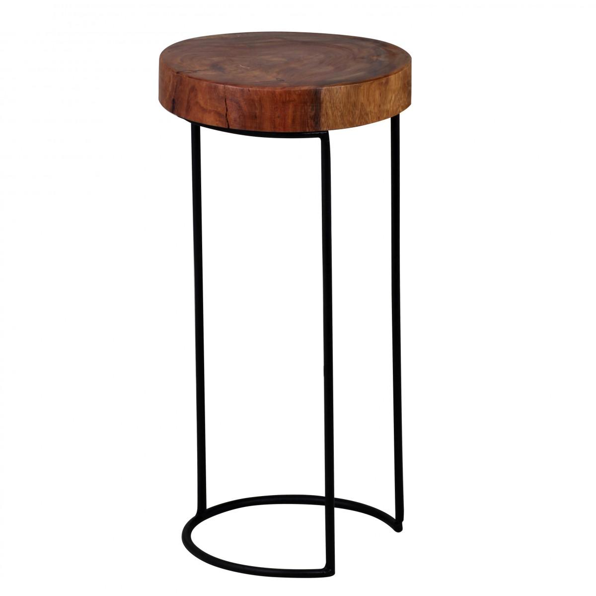 Odkládací stolek Akola, 28x55 cm, masiv Sheesham