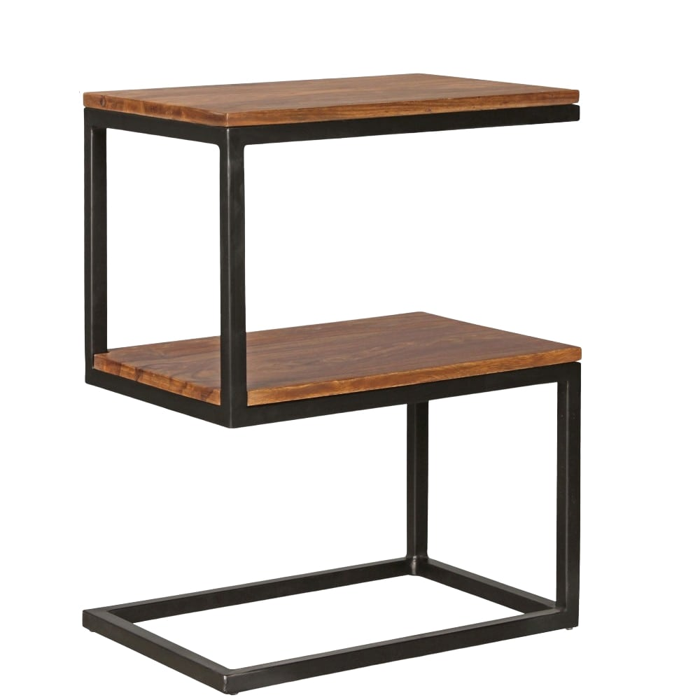 Odkládací stolek Alea, 60 cm, masiv Sheesham