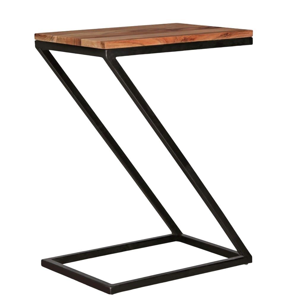 Odkládací stolek Alea, 62 cm, masiv Sheesham